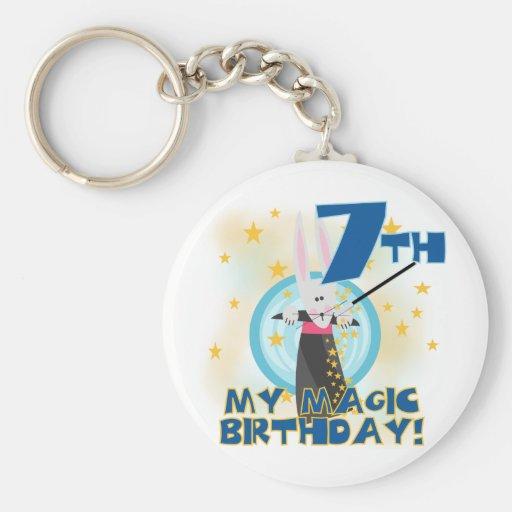7mas camisetas y regalos del cumpleaños de la magi llavero redondo tipo pin