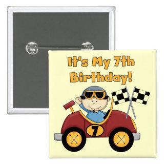 7mas camisetas y regalos del cumpleaños del coche  pins