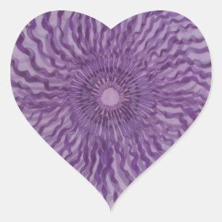 7mo Arte curativo de Chakra - #2 Pegatina En Forma De Corazón