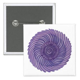 7mo Arte de Chakra: #1 Pin Cuadrado