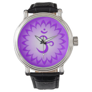 7mo Chakra - corona Chakra - Sahasrara Reloj
