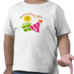 7mo cumpleaños - chica del cumpleaños camiseta