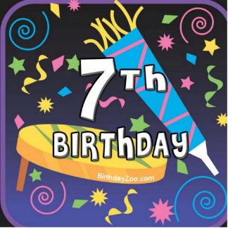 7mo Cumpleaños Fotoescultura Vertical