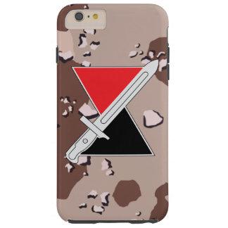 """7mo División de infantería """"división"""" DUI del Funda De iPhone 6 Plus Tough"""