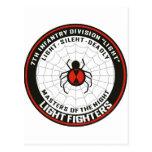 7mo División de infantería (luz) Postal