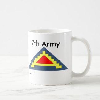 7mo Ejército cm Taza De Café