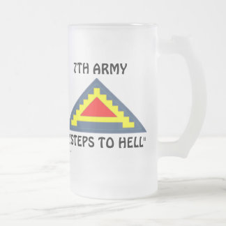 7mo Ejército frm/1 Taza De Cristal