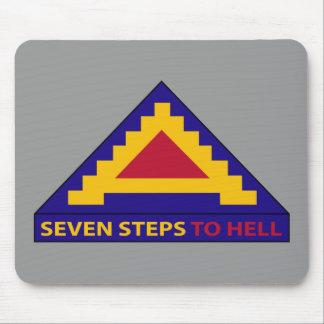 7mo ejército - siete pasos al infierno - cojín alfombrillas de ratón