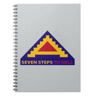 7mo ejército - siete pasos al infierno cuadernos