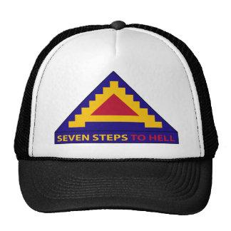 7mo ejército - siete pasos al infierno gorro de camionero