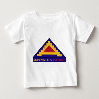 7mo ejército - siete pasos al infierno playera de bebé