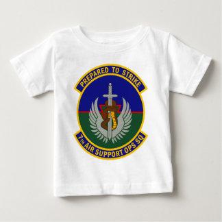 7mo Escuadrilla de las operaciones del apoyo aéreo Playera De Bebé