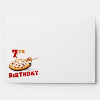 7mo Fiesta de la pizza del cumpleaños