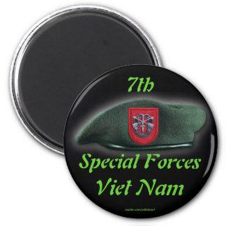 7mo imán de las boinas verdes de los veteranos de