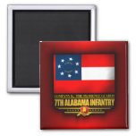 7mo Infantería de Alabama Imán De Frigorífico