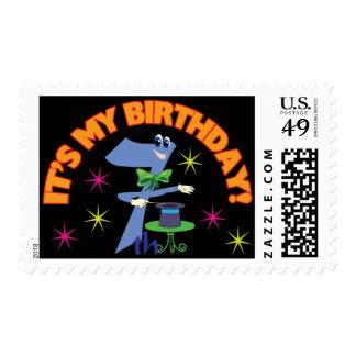 7mo Magia del cumpleaños Franqueo