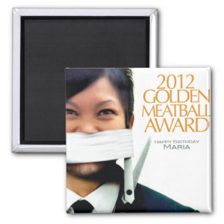 7mo Premio de oro anual de la albóndiga Imán Cuadrado