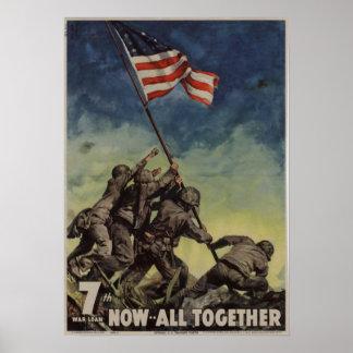7mo Préstamo de la guerra: Ahora -- Todos junto Póster