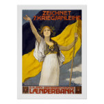 7mo préstamo de la guerra del austriaco (blanco) impresiones