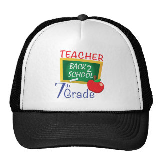7mo Profesor del grado Gorros Bordados