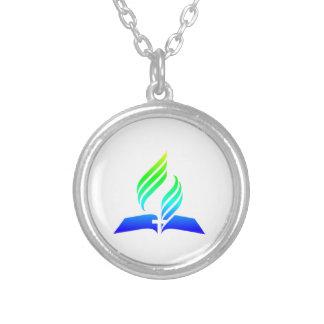 7mo Símbolo del Adventist del día Colgante Redondo
