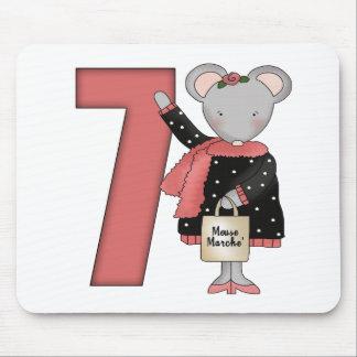 7mos regalos de cumpleaños del ratón alfombrilla de ratón