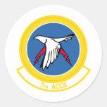 7th ACCS Classic Round Sticker