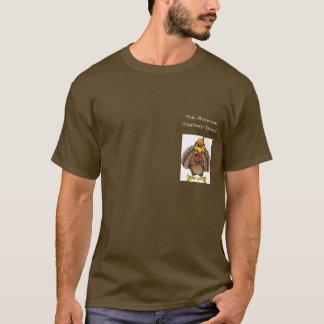 7th Annual Turkey Bowl Team Dark Meat T-Shirt