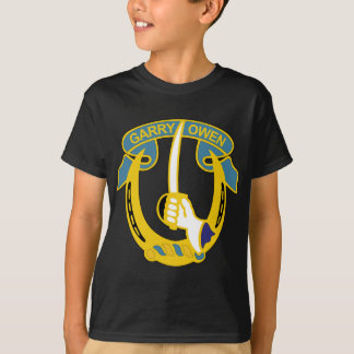 7th Armored Cavalry Insignia - Garry Owen T-Shirt