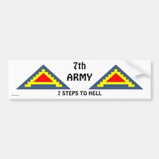 7th Army bs/1 Car Bumper Sticker