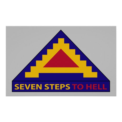 7th Army - Seven Steps To Hell - Poster