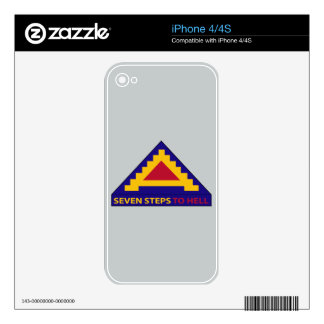 7th Army - Seven Steps To Hell Skin For iPhone 4S