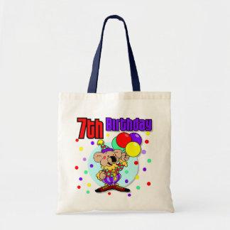 7th Birthday Australia Birthday Canvas Bag
