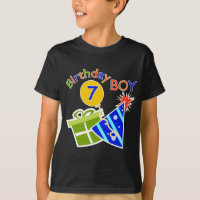 7th Birthday - Birthday Boy T-Shirt