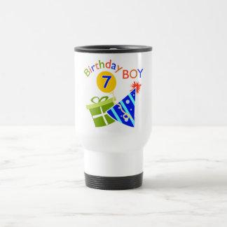 7th Birthday - Birthday Boy Travel Mug
