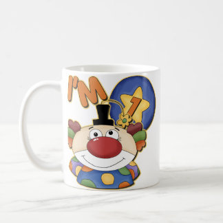7th Birthday Clown Birthday Coffee Mug