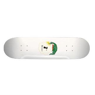 7th Birthday Dragon Skate Board Deck
