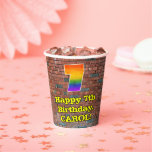 [ Thumbnail: 7th Birthday: Fun Graffiti-Inspired Rainbow 7 ]