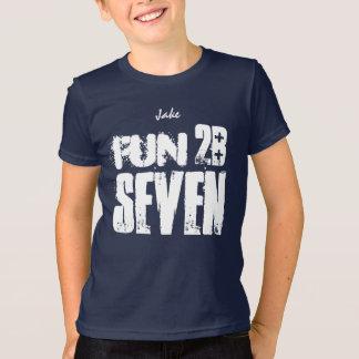 7th Birthday Fun to be Seven V41D T-Shirt