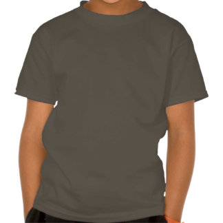 7th Birthday Gift for 7 Year Old Number on Slant T Shirt