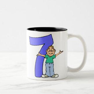 7th Birthday Gifts Mug