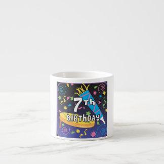 7th Birthday Party Espresso Cup