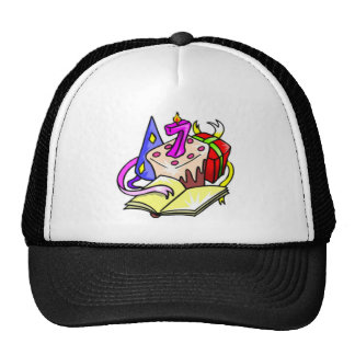 7th Birthday Party Gifts Trucker Hat