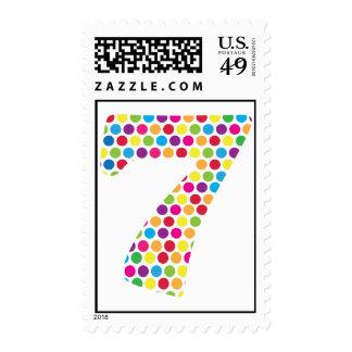 7th Birthday Stamp