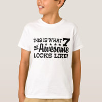 7th Birthday Boys T Shirts