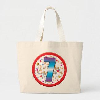 7th Birthday v2 Tote Bag