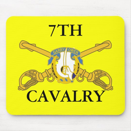 7TH CAVALRY MOUSEPAD