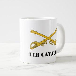 7th Cavalry Mug 20 Oz Large Ceramic Coffee Mug