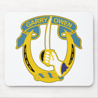 7th Cavalry Regiment - Garry Owen Mouse Pad