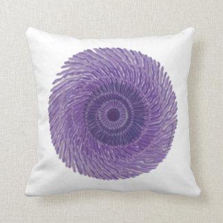 7th Chakra Art - #3 Pillow